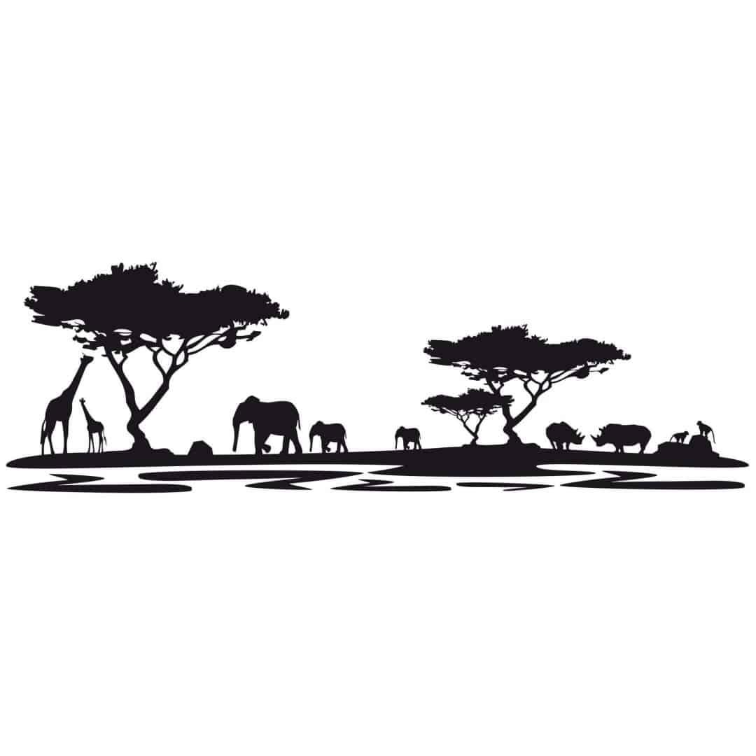 Africa 5 Wall Sticker