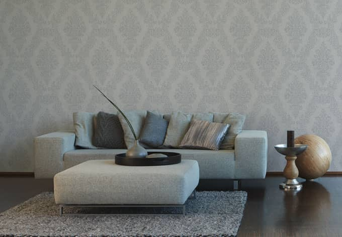 The wallpaper gives elegance and refinement to the bedroom, the tulip symbol of the new love. A S Creation Carta Da Parati In Tnt Elegance 2 Colore Beige Grigio Wall Art It