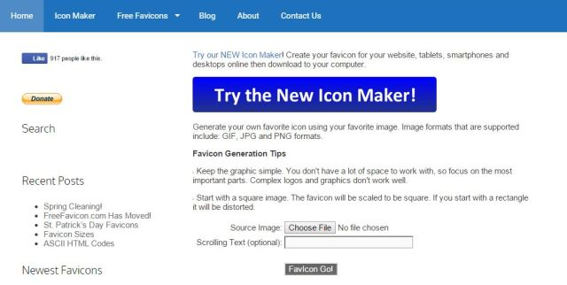 freefavicon icon creator