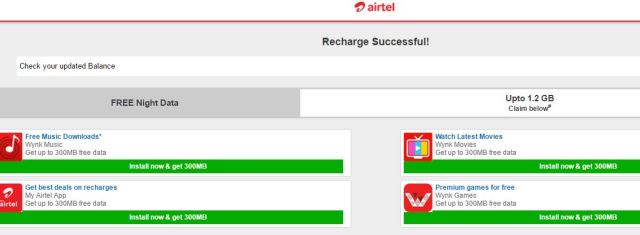 airtel default page