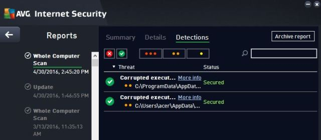 avg threats removed