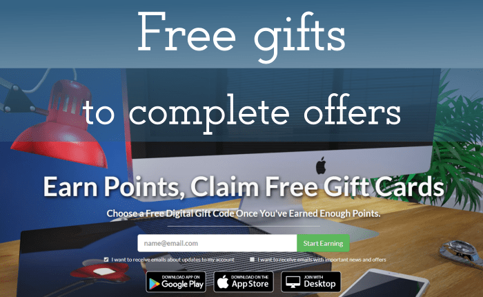 PointsPrizes Earn Free Gifts - wall-spot