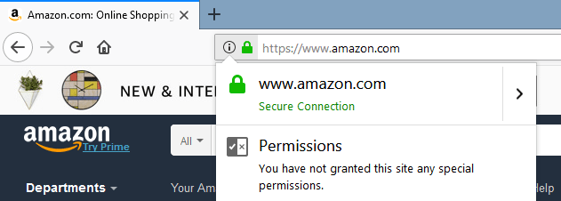 Amazon https connection