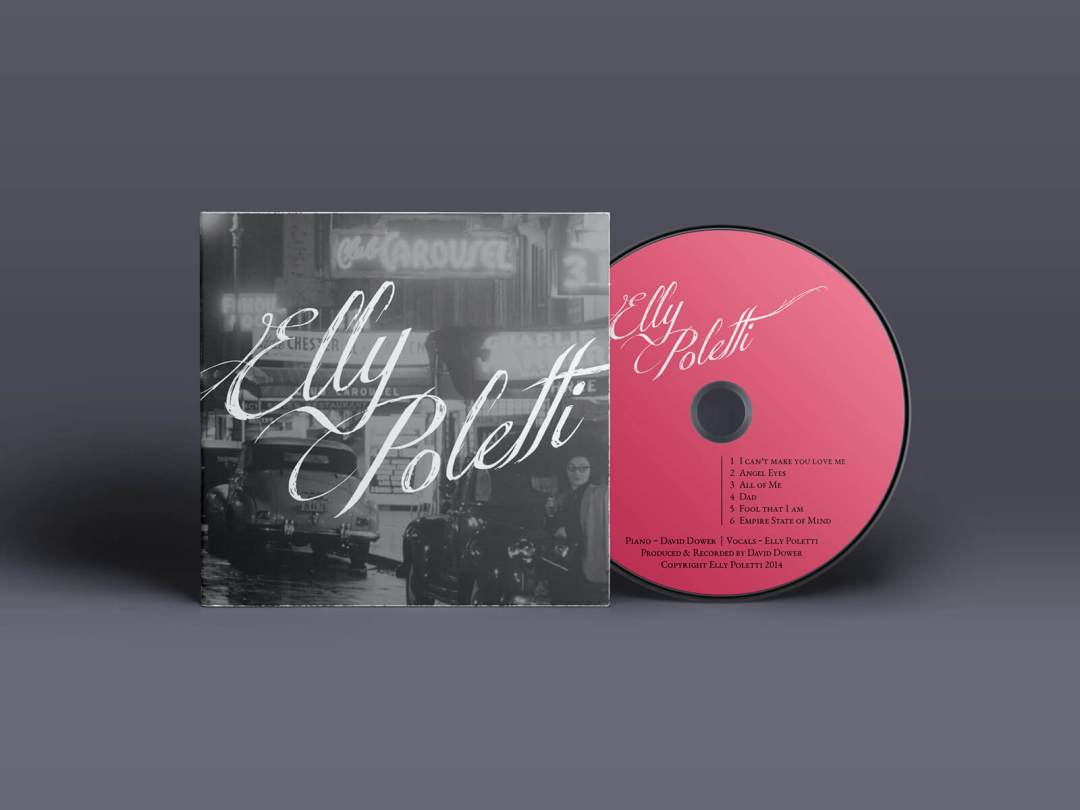 Elly Poletti - CD and Cover Design