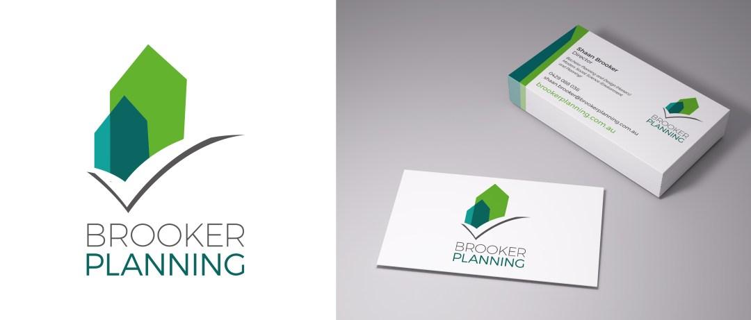 Brooker Planning - Logo Design