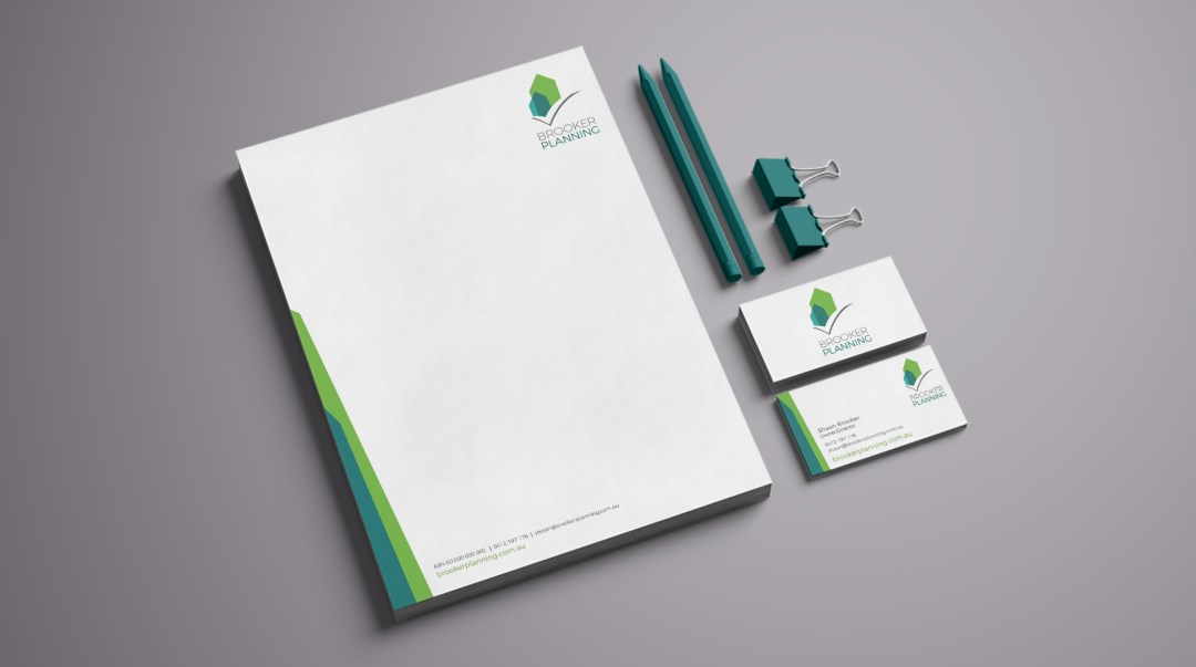 Brooker Planning - Small Business Stationery Suite
