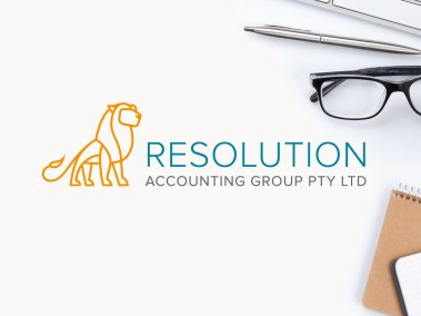 Resolution Accounting Group Logo Design