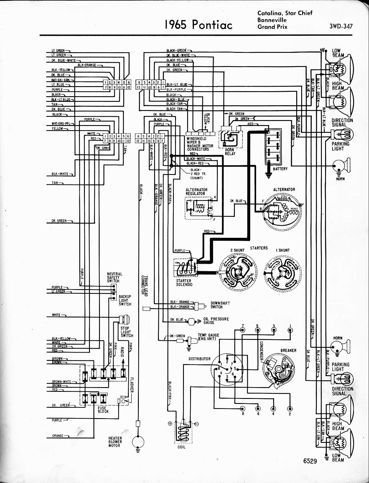 67 Lemans Wiring Diagram