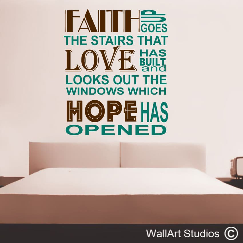 Faith Hope And Love Quotes Bible