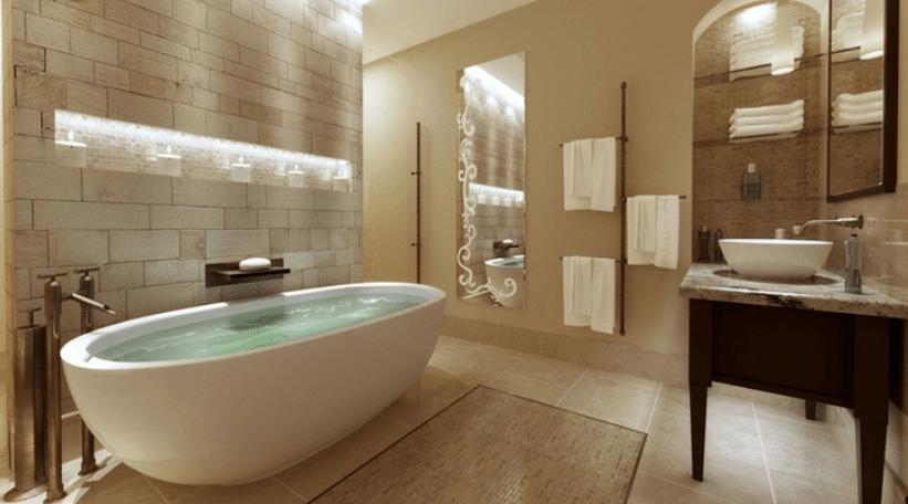"Bathroom ""Spa"" Makeovers - Wallauer"