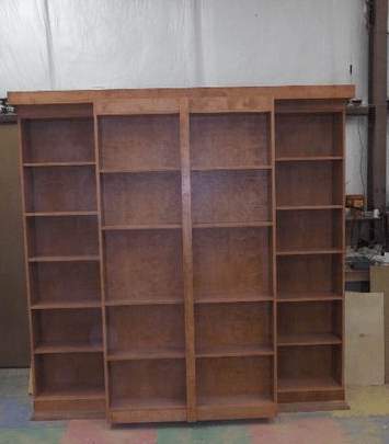 Murphy Library Bed Twin Do It Yourself Kit Real Plywood