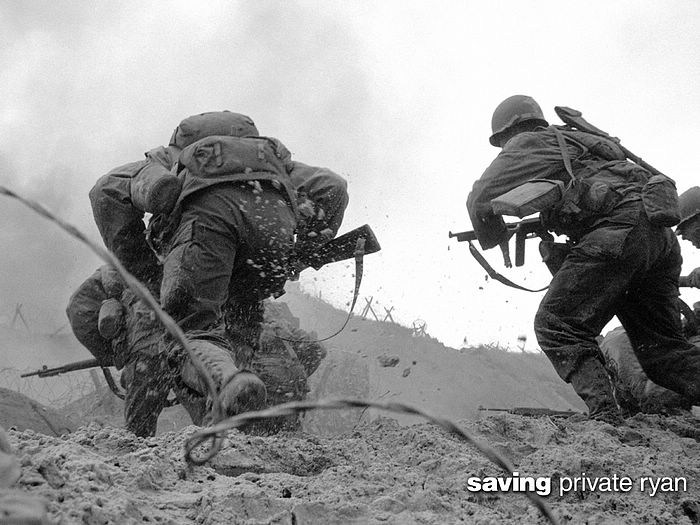 the realism in the film saving private ryan Saving private ryan trivia: 7 facts you need to know about the iconic war movie saving private ryan was praised for its realism.