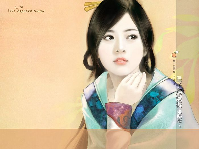 Graceful Ancient Chinese Girl Wallpaper  24