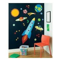 Galaxy wall decoration for kids room