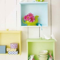 Inspiring DIY Wall Shelves Design Ideas