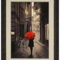 Red Umbrella Wall Art
