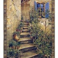Tuscan Villa Tapestry
