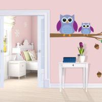 Owl Tree Wall Decor