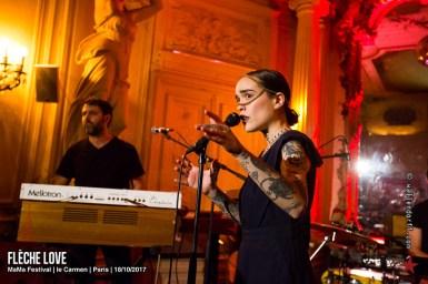 Flèche Love @ MaMa Festival, le Carmen, Paris, 18/10/2017