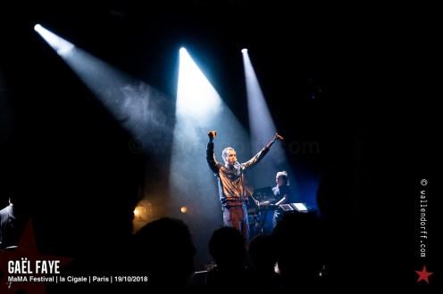 Gaël Faye @ MaMA Festival, la Cigale, Paris, 19/10/2018