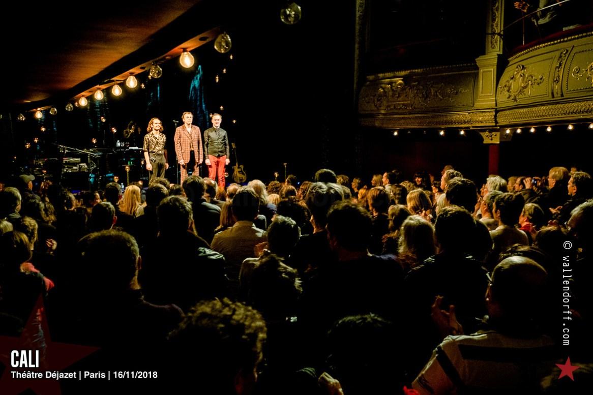 Cali @ théâtre Déjazet, Paris, 16/11/2018