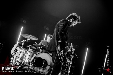 Interpol @ Forest National, Bruxelles, 28/11/2018