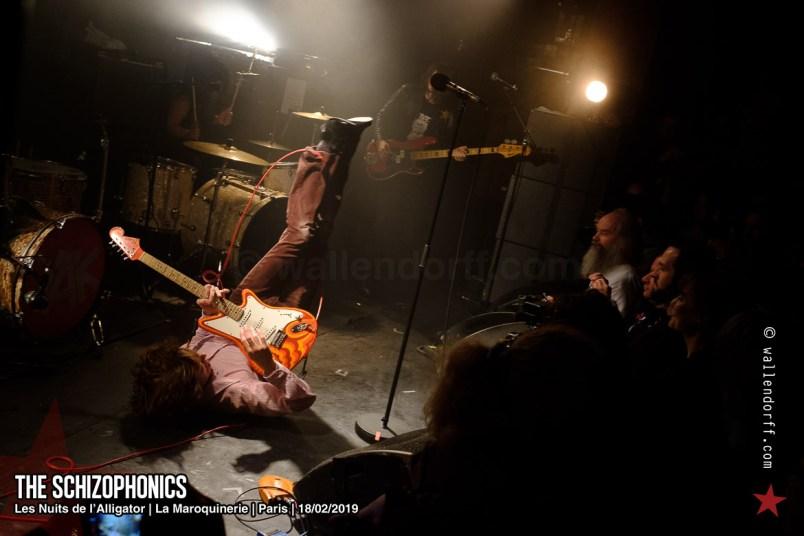 The Schizophonics @ les Nuits de l'Alligator, la Maroquinerie, Paris, 18/02/2019