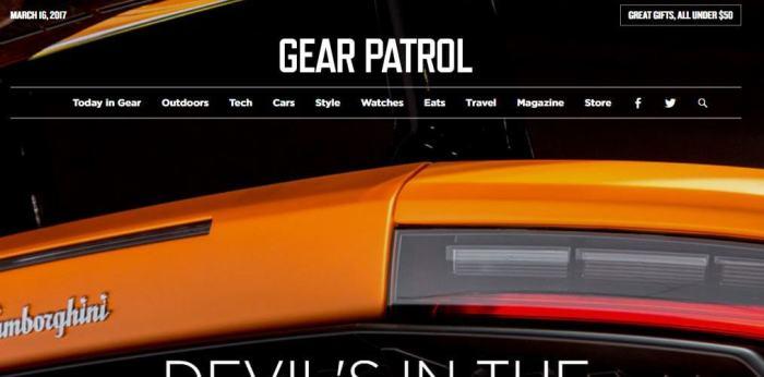 GearPatrol -Amazon Affiliate Website Example