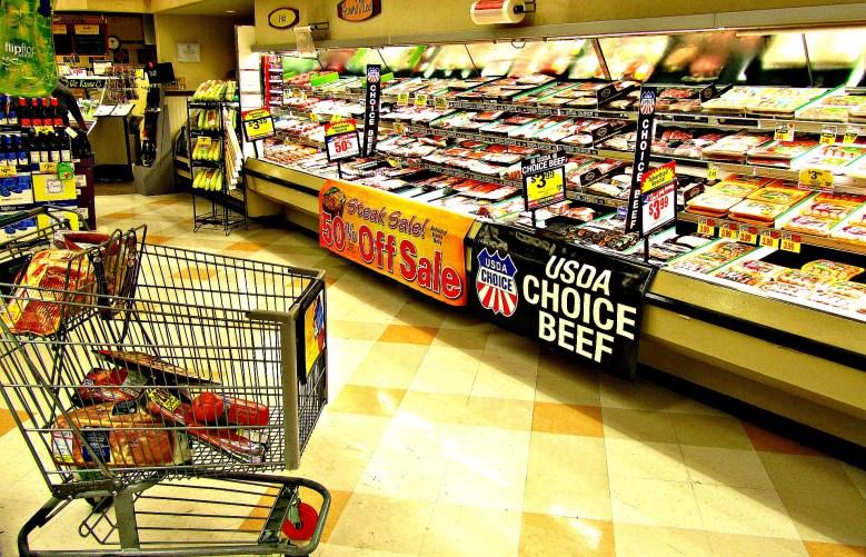 Grocery Store Habit Meat on sale