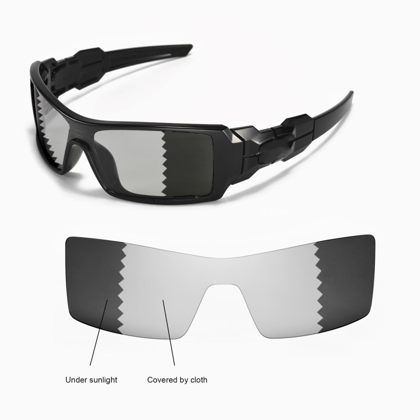 6e34fd5957 New Walleva Polarized Transition Photochromic Lenses For Oakley Oil