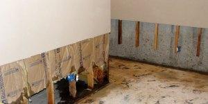 Drywall Water Damage