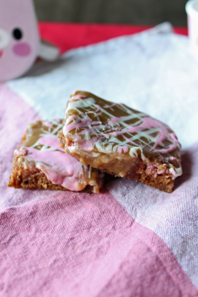 Healthy Apple Spice Squares with Caramel Penuche Icing 7--022613