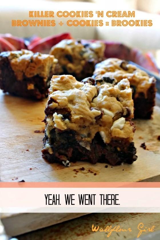 Killer Cookies 'N Cream Brookies 20--112113
