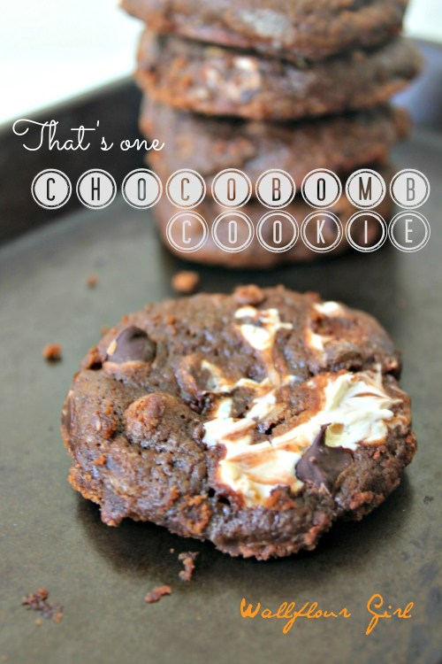 The Chocoholic Bomb Cookie 11--030914