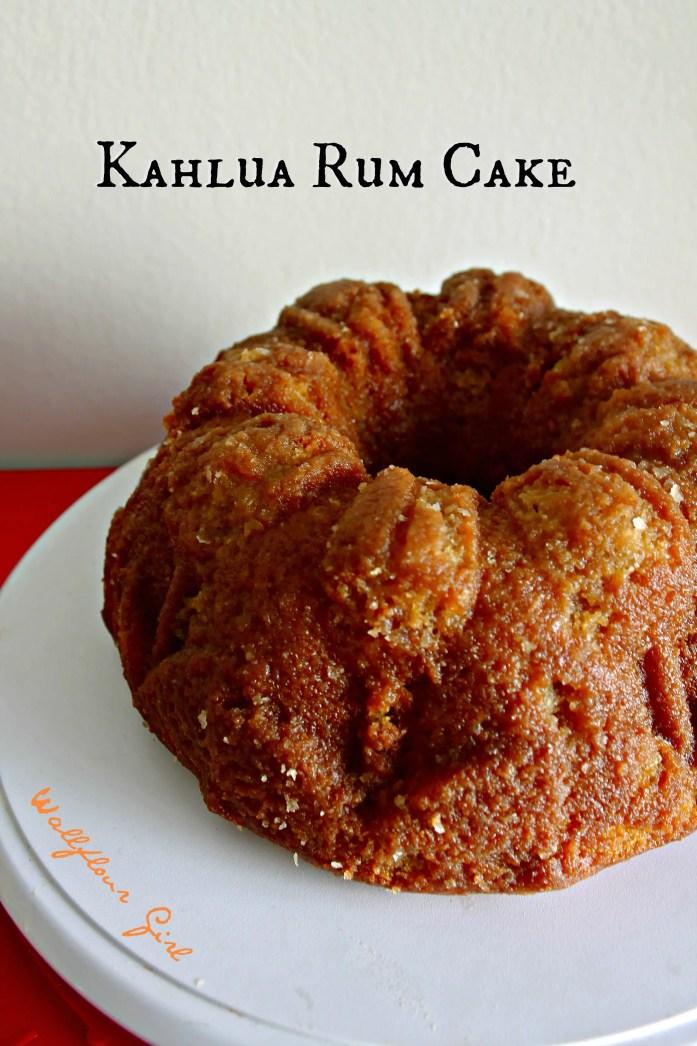 Edible Book Festival 2014 Calvin's Advice Wheel Kahlua Rum Cake 2--041114