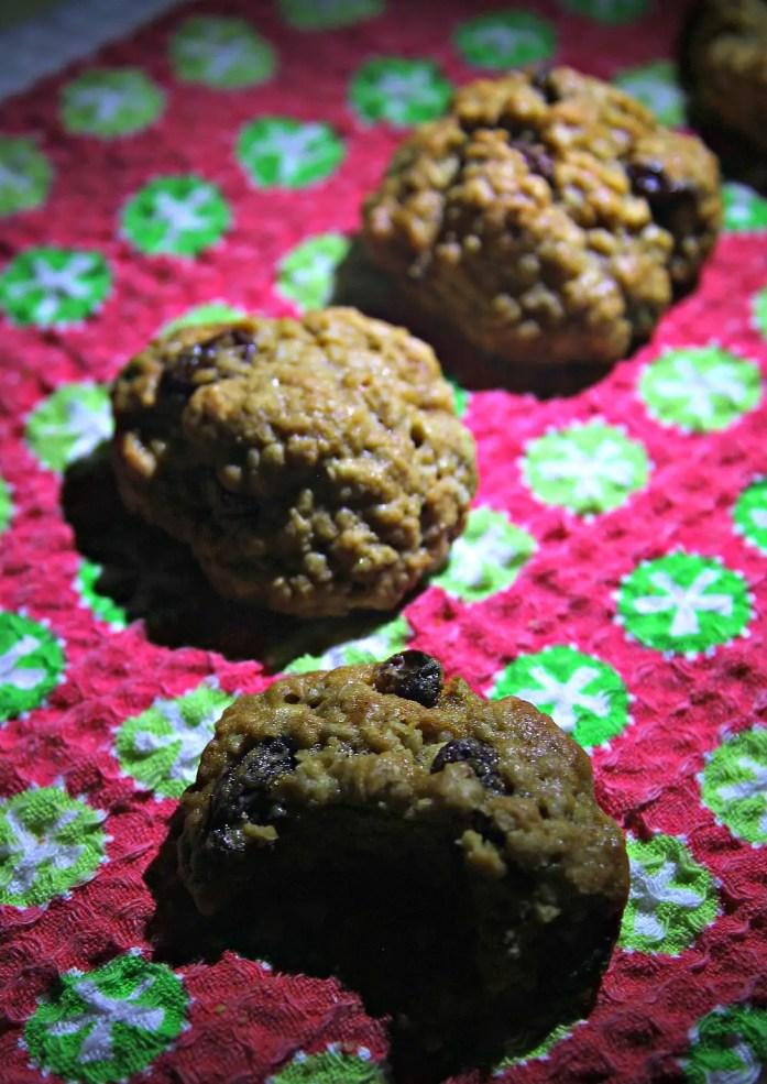 Classic Spiced Oatmeal Raisin Cookies 4--061814