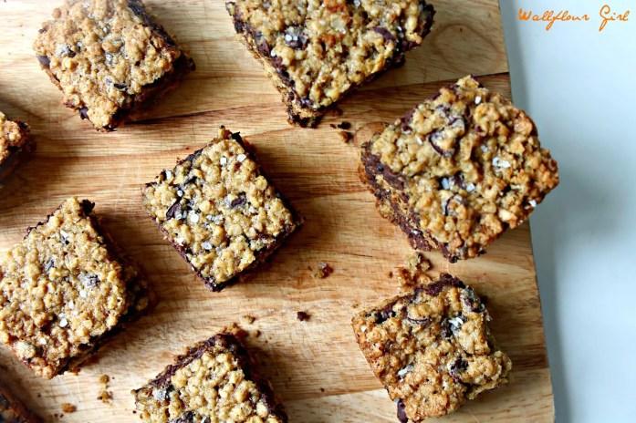 Salted Oatmeal Cookie Chocolate Bars 17--071614