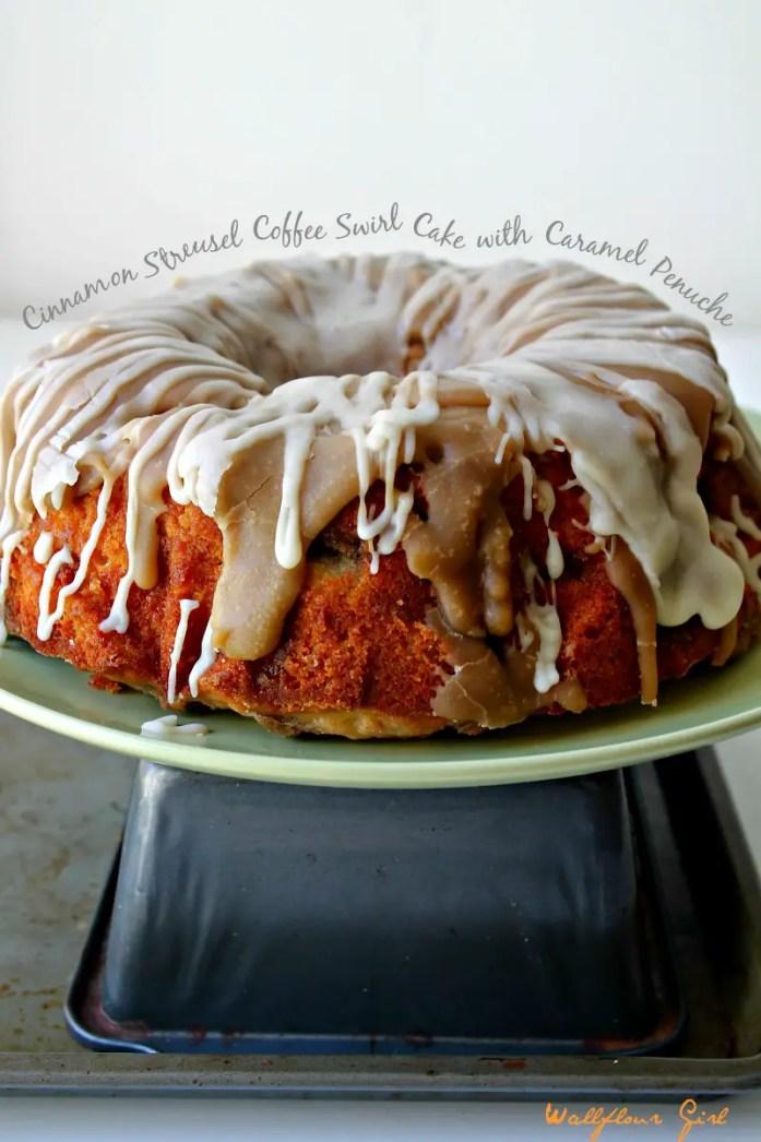 Cinnamon Streusel Zested Coffee Cake with Caramel Penuche 5--082314
