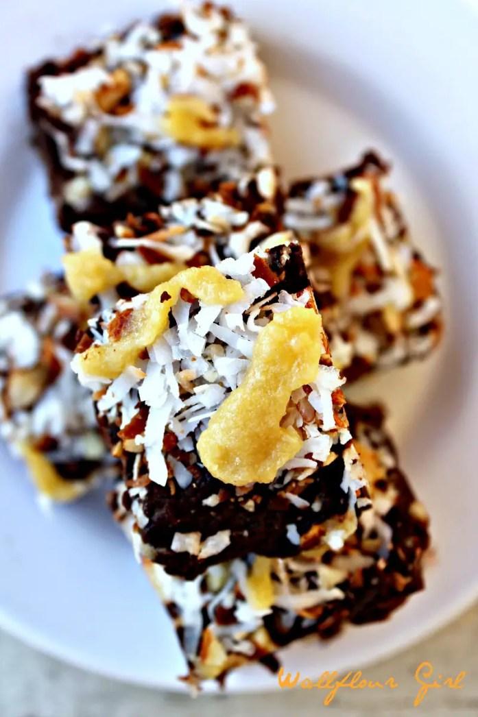German Chocolate Fudgy Brownies 8--083114