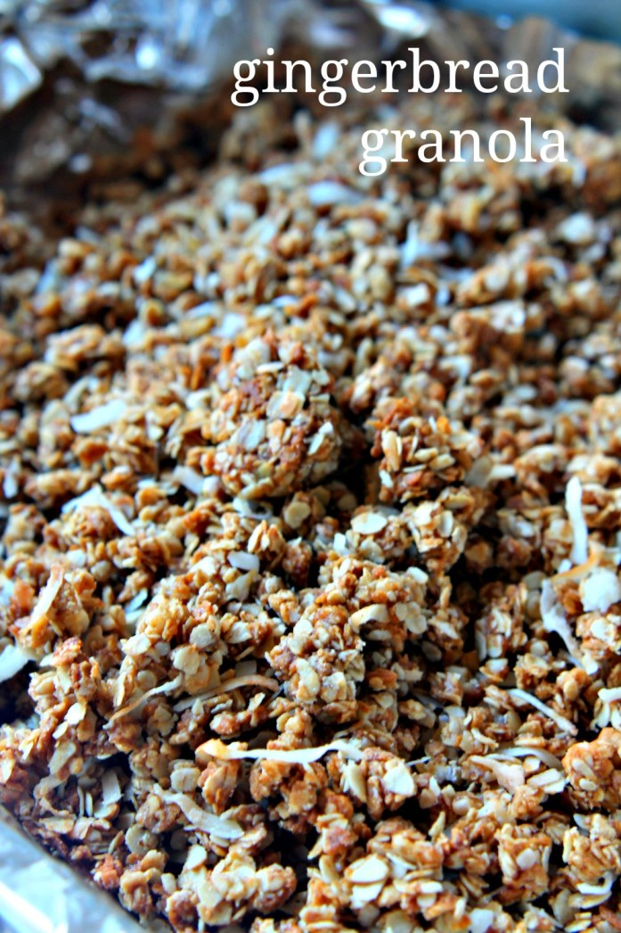 Gingerbread Granola 2--121914