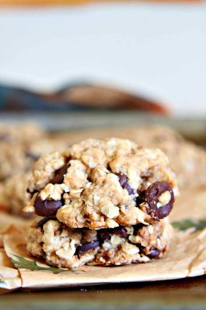 One-Bowl Oatmeal Chocolate Chip Cookies 6--012615