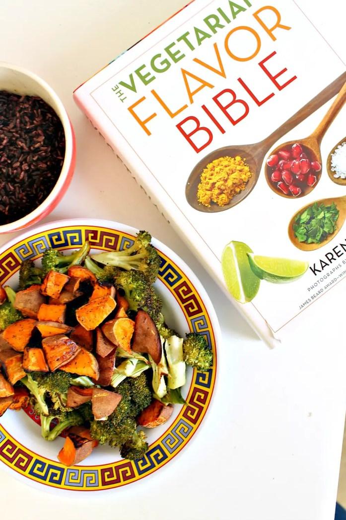 Roasted-Broccoli-and-Sweet-Potato-Black-Rice-Bowl-Sesame-Dressing 1--051215