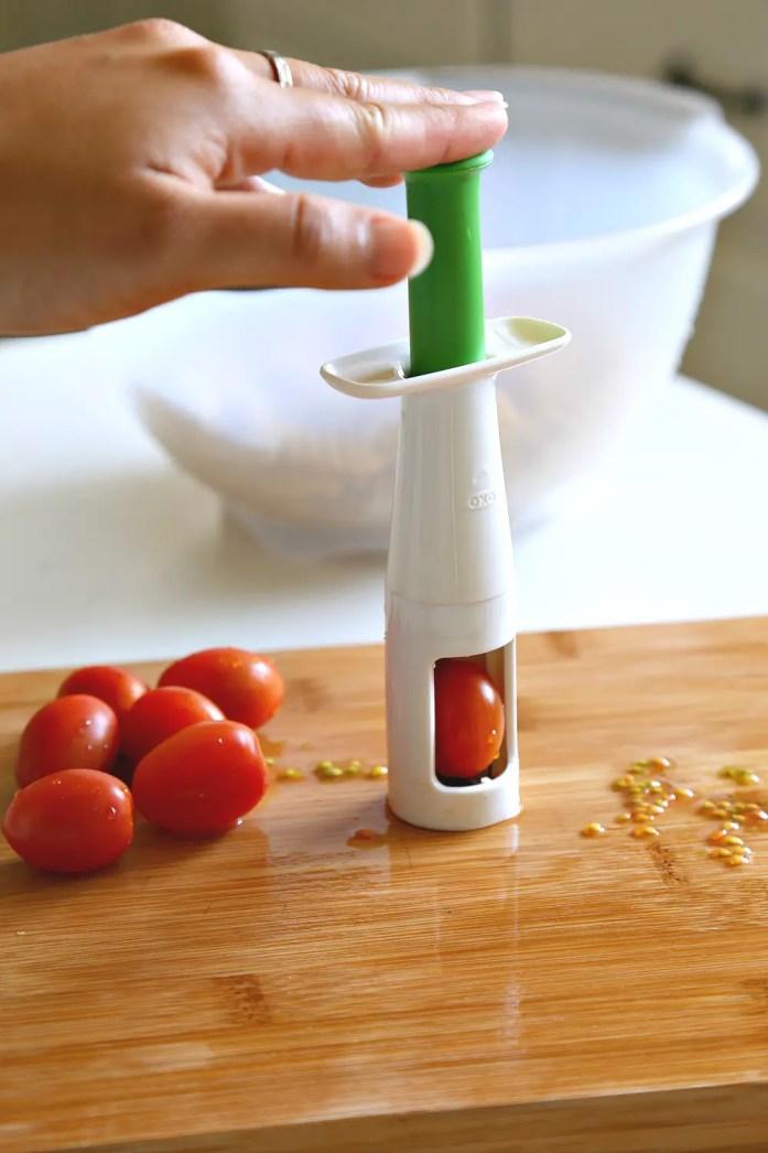 Zucchini Tomato Pasta Marinara OXO 2--022816