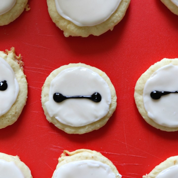 Baymax Sugar Cookies