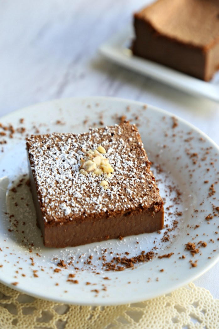 Chocolate Souffle Custard Cake 1--112116