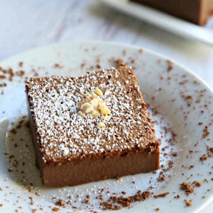 Chocolate Souffle Custard Cake, a.k.a. Chocolate Magic Cake
