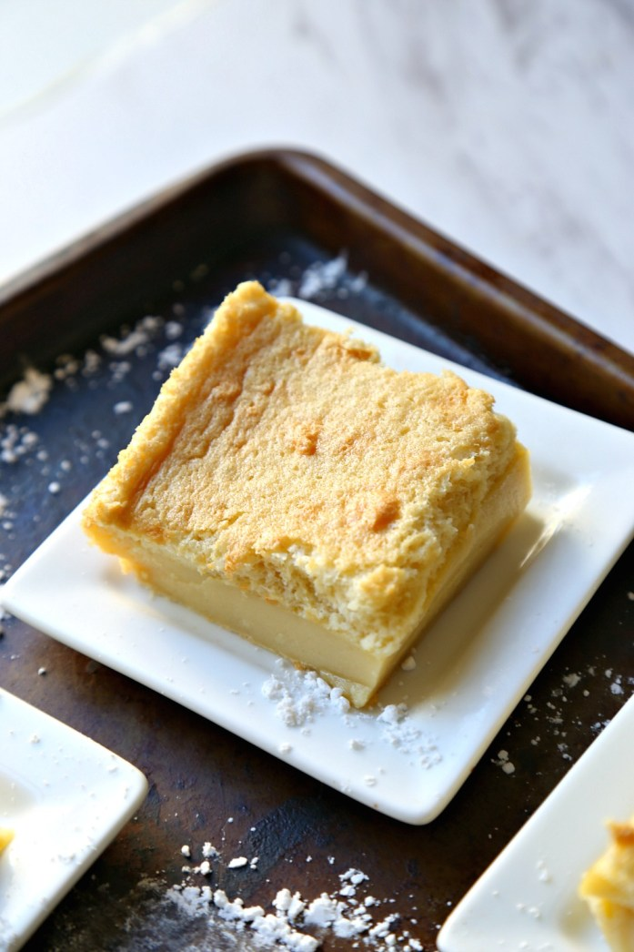 Vanilla Custard Souffle Cake 1--111616
