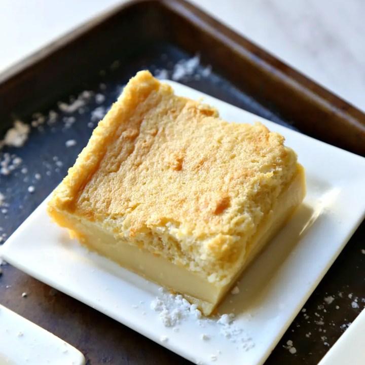 """Vanilla Souffle Custard Cake, a.k.a. """"Magic Cake"""""""