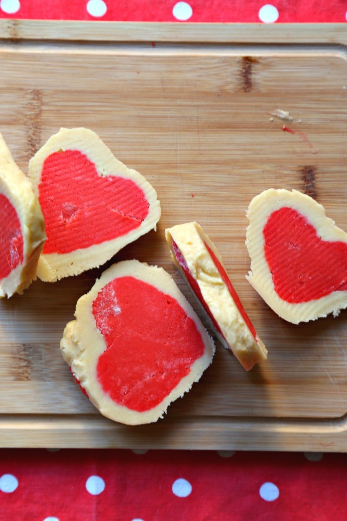 Slice and Bake Heart Sugar Cookies 4--012917