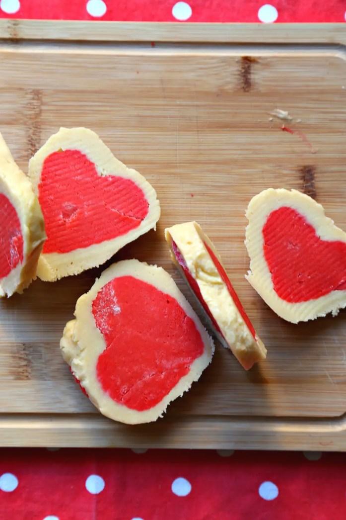 Slice and Bake Heart Sugar Cookies 4--012917